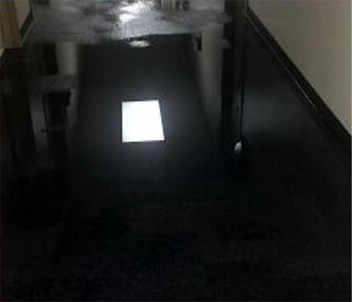Commercial Water Damage In Los Gatos Before