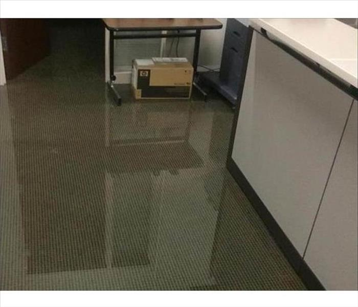 Los Gatos Office Under Water Before